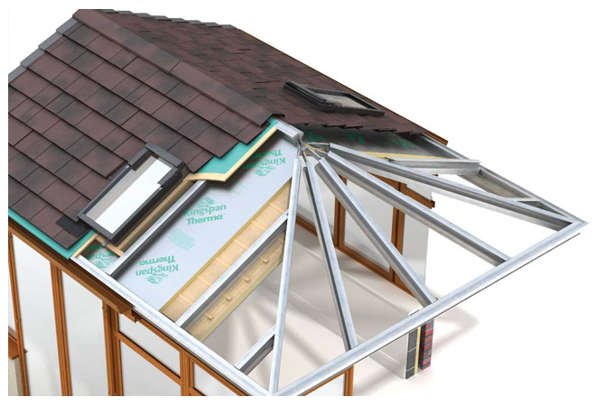 Solid Roofs for Conservatories