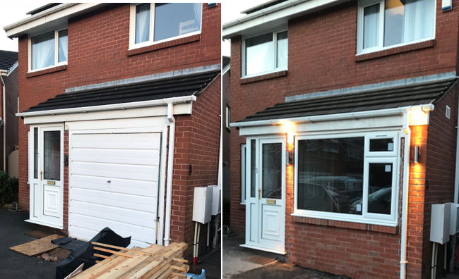 Garage Conversions South Wales